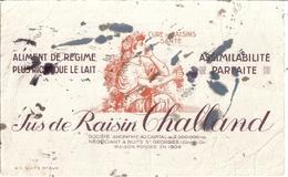 Jus De Raisin CHALLAND - NUITS ST GEORGES  -CURE DE RAIaliment De Régime Plus Riche Que Le Lait-assimilabilité Parfaite - Alimentaire
