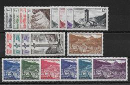 ANDORRE - YVERT N°138/153 * MLH CHARNIERE LEGERE - COTE = 120 EUROS - - French Andorra