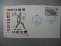 FDC 1959     N° 1228  10 ème Anniversaire De L'OTAN Et Inauguration De Son Palais à Paris     à Voir - FDC