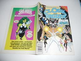 The Mutant Misadventures Of Cloak And Dagger 4 (Marvel Comics) Avril 1989 - Inferno  EN V O - Magazines