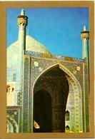 IRAN. Carte Postale écrite. Masjed Shah, Isfahan. - Iran
