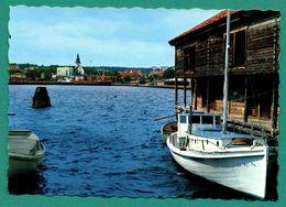 Suede Hudiksvall ( Barque, Bateau, Navire ) - Suède