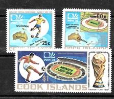 Serie De Cook Nº Yvert 386/88 **  DEPORTES (SPORTS) - Islas Cook
