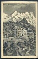 Alagna Sesia - Albergo Stolemberg Al Colle D'Olen (timbro Albergo) - Viaggiata 1931 - Rif. 16598 - Vercelli