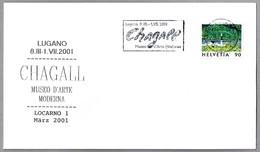 Museo De Arte Moderno - Exposicion MARC CHAGALL. Locarno, Suiza, 2001 - Arte