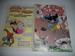 The Mutant Misadventures Of Cloak And Dagger N° 7 (Marvel Comics)L 1986 - Inferno En V O - Magazines