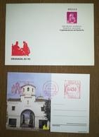 ESPAÑA SPAIN ESPAGNE SPANIEN CAPITULACIONES DE SANTA FE GRANADA 1987 EDIFIL 8 SOBRE ENTERO POSTAL SEP - Enteros Postales