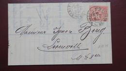 Lettre Banque Renauld & Cie Nancy Perforé RJC 34 ( Catalogue Ancoper ) Nancy 1903 - France