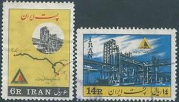 PERSIA PERSE IRAN PERSIEN 1963 Oil Company ,Used , Scott 1259/1260 - Iran