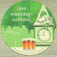 Sous-bock PALM Leve Maandag-ochtend Horloge Coq église Bierdeckel Beermat Bierviltje (CX) - Sous-bocks