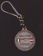 OSSANA (TRENTO) -  21 8 1994  PORTACHIAVI COMMEMORATIVO INCONTRO ITALO - AUSTRIACO PER LA PACE - Portachiavi