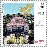 Brazil 2018 Stamp Museum Rio De Janeiro Architecture Art - Brazilië