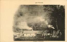 071218 - PUBLICITE ALCOOL CHAMPAGNE MERCIER EPERNAY - 88 Les Vosges - Scierie Vosgienne - - Champagne & Schuimwijn