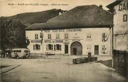 071218 - BIERE TIGRE BOCK STRASBOURG - 88 RAON SUR PLAINE Restaurant Hôtel Du Donon G MATHIEU AUTOS GARAGE  - AUTOBUS - Bière
