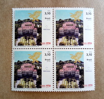 Brazil 2018 Block Of 4 Stamp Museum Rio De Janeiro Architecture Art - Brazilië
