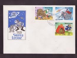 "SIERRA LEONE - 1811 1983  FDC ""SPACE ARK FANTASY"" - Sierra Leone (1961-...)"