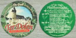 Sous-bock TER DOLEN Abdijbier Bière D'abbaye De Dool Château Kasteel Bierdeckel Beermat Bierviltje (CX) - Sous-bocks
