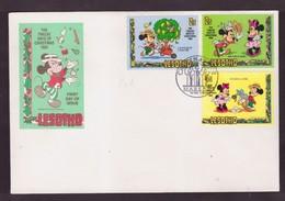 "LESHOTO -  1 12 1982  FDC ""THE TWELVE DAYS OF CHRISTMAS 1982"" - Lesotho (1966-...)"