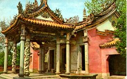 TAIWAN. Carte Postale écrite En 1964. Wufeng Temple. - Taiwan