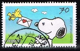 Bund 2018, Michel# 3369 O Comic: Peanuts - BRD