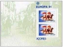 AZZORRE - FOGLIETTO EUROPA 1981 - Europa-CEPT