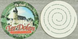 Sous-bock TER DOLEN Abdijbier Bière D'abbaye De Dool Château Kasteel Bierdeckel Beermat Bierviltje (N) - Sous-bocks