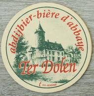 Sous-bock TER DOLEN Abdijbier Bière D'abbaye De Dool Château Kasteel Bierdeckel Beermat Bierviltje (V) - Sous-bocks
