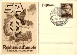 SA Reichswettkämpfe 1938 - Guerre 1939-45