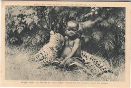 Burkina-faso - Soudan Français Et Haute-volta - Léopard Et Petit Noir - Burkina Faso