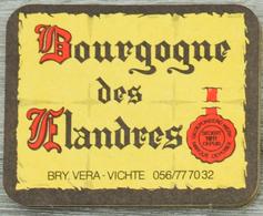 Sous-bock BOURGOGNE DES FLANDRES Bierdeckel Beermat Bierviltje (CX) - Sous-bocks
