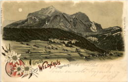Gruss Aus Wildhaus - Litho - SG St. Gall
