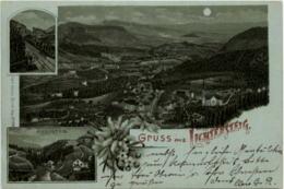 Gruss Aus  Lichtensteig - Litho - SG St. Gallen