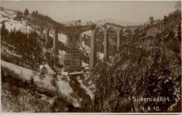 Bruggen - Sitterviaduct Im Bau - SG St. Gallen