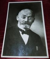 LAZAR LUDVIG ZAMENHOF, ORIGINAL OLD POSTCARD 1962. - Esperanto