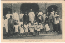 Burkina-faso - Soudan Français Et Haute-volta - Ouagadougou - Grand Chef Baloum Naba - Baptême De Ses 14 Plus Jeunes Enf - Burkina Faso