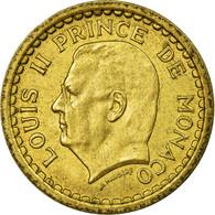 Monnaie, Monaco, Franc, Undated (1943), TTB, Cupro-Aluminium, Gadoury:MC 132 - 1922-1949 Louis II