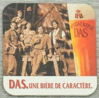 Sous-bock HOUGAERDSE DAS Une Bière De Caractère Ouvriers Bierdeckel Beermat Bierviltje (CX) - Sous-bocks
