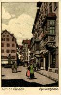 St. Gallen - Speissergasse - SG St. Gall
