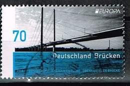 Bund 2018, Michel# 3383 O  Europa C.E.P.T. Brücken - Gebraucht