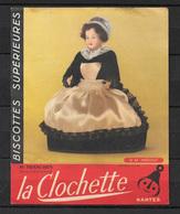 FRANCE Buvard N° 44 HUELGOAT Biscottes La Clochette Nantes Poupée - Autres
