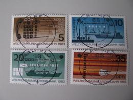 DDR  2770 - 2773  O - [6] République Démocratique