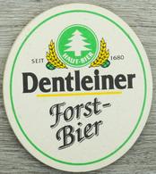 Sous-bock DENTLEINER FORST-BIER Sapin Bierdeckel Beermat Bierviltje (CX) - Sous-bocks