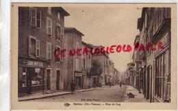 87 - BELLAC -RUE DU COQ- LIBRAIRIE  PAPETERIE - EDITEUR MLLES VINSON - Bellac