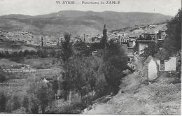 Promenade De Zahlé Postée De Beyrouth En 1926 - Liban