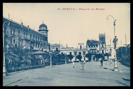 HUELVA -Plaza De Las Monjas  ( Ed.Papelaria Inglesa Nº 21) Carte Postale - Huelva