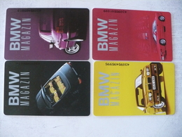 Phonecard Germany K 1393 A-D BMW Magazin Car Set 3000 Ex. - Germania