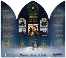 "Brazil 2018 Christmas 200 Years Of ""Silent Night"" Song Religion Music Germany - Brasile"