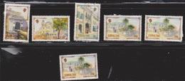 GIBRALTAR Scott # 631-2, 635, 638 MH & Used - Faults - Gibraltar