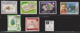 GIBRALTAR Various Used + 1 Mint - Gibraltar