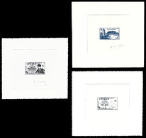 (*) FEZZAN, N°35, 50 En épreuves D'artiste Signées + N°50 épreuve D'état. TB  Qualité: (*) - Unused Stamps